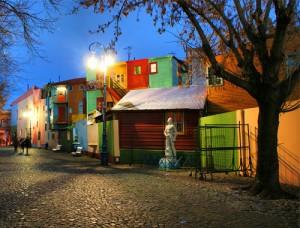 Caminito, barrio de la Boca, Buenos Aires