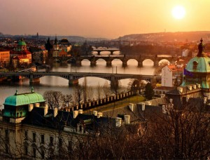 Río Moldava, Praga