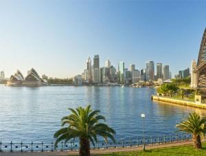 Vista de la ciudad de Sydney
