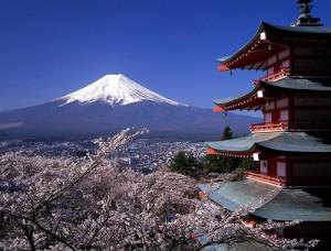 Vista al monte Fuji, Tokio