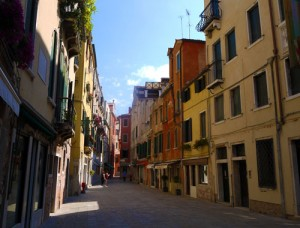 callejón de Venecia