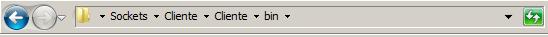 Ruta de los archivos para encontrar el ejecutable
