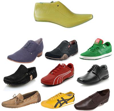 horma y diferentes zapatos