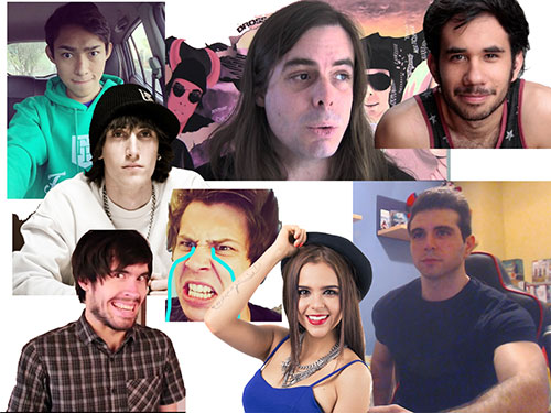 Grandes video bloguers vlogers
