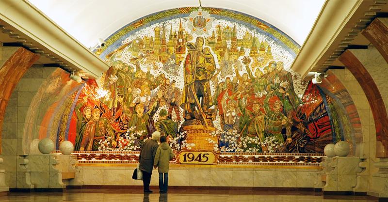 Metro de Moscú, historia y arte