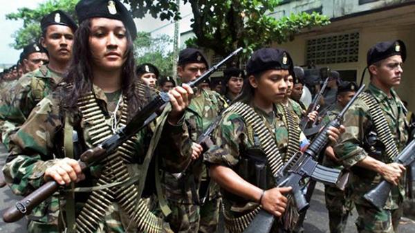 Las FARC vs gobierno de Colombia
