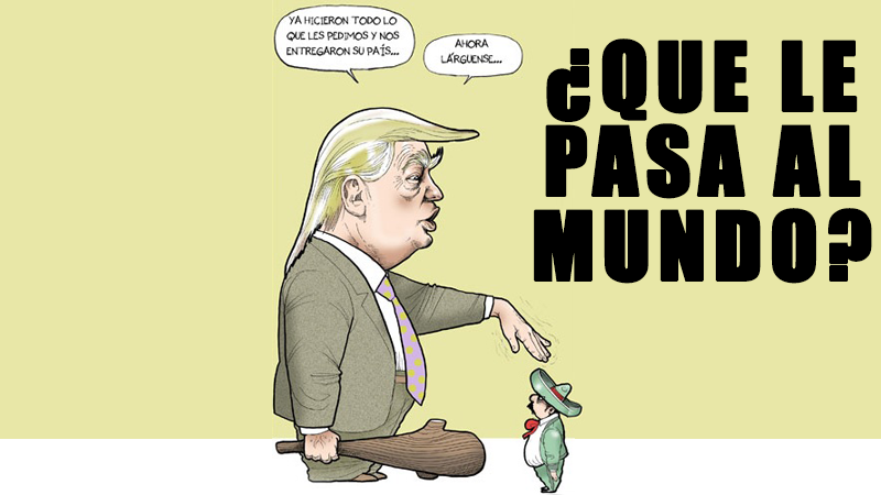Donald Trump Hillary Clinton mundo que le pasa brexit plebiscito colombia la Farc estados unidos euro peso mexicano muro unión europea