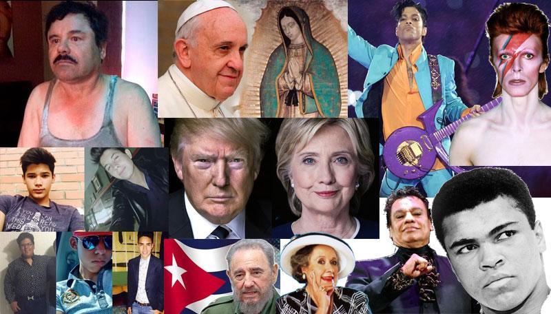 Los acontecimientos de 2016