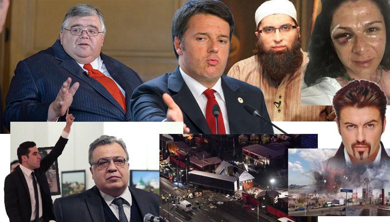 diciembre agustin carstens Matteo Renzi Junaid Jamshed Ana Guevara Ankara embajador de rusia berlin explosion san pablito tultepec George Michael