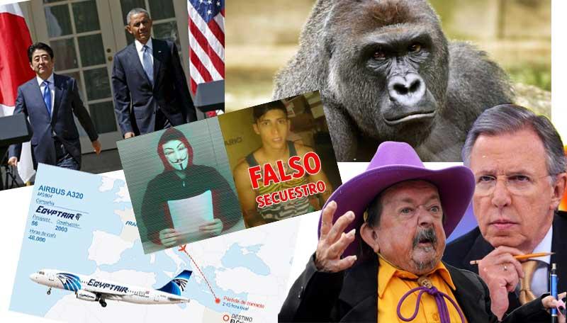 mayo margarito egyptair accidente joaquin lopez doriga estados unidos barack obama japon hiroshima harambe gorila alan pulido secuestro