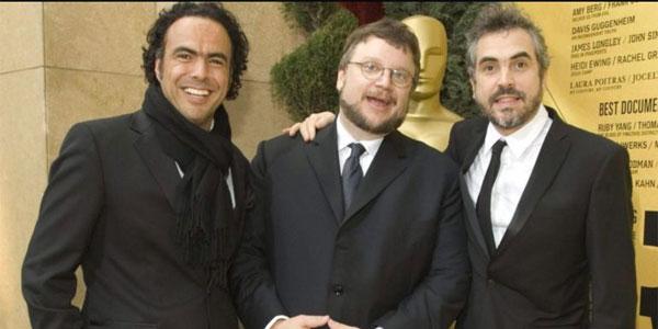 Alejandro González Iñarritu Alfonso Cuaron Guillermo del Toro los tres amigos