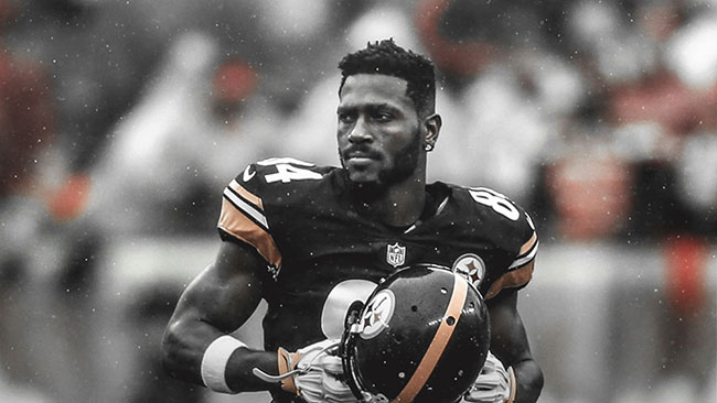 antonio brown pittsburgh steelers NFL