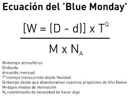 #BlueMonday el día más triste del año