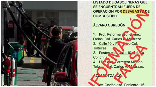huachicolero gasolina noticias falsas