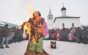 Fiesta pagana eslava la Maslenitsa