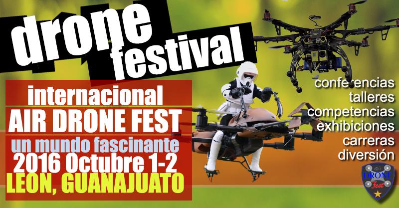Primer festival de drones Leon Guanajuato