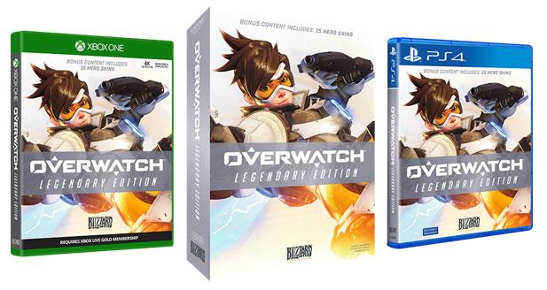 overwatch legendary editioin PC PS4 XBox one videojuego